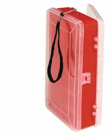 Коробка 2-х сторонняя Abu Garcia Double Sided Utility Boxes Medium Red/Clear