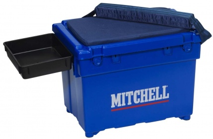 Ящик рыболовный Mitchell SaltWater Seat Box Blue