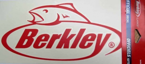 Наклейка Berkley Sticker Red 12 Berkley Sticker Red 30cm
