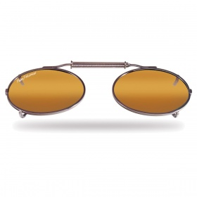Накладки Fly Fish 7507A Clip-On / Small Oval, Assorted, Amber