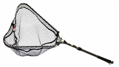 Подсачек Abu Garcia Compact Folding Game Nets 50-130cm Black Alu