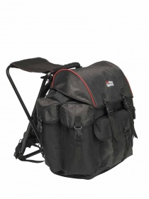 Рюкзак стул Abu Garcia Rucksacks Large 56x40x46cm Black/red