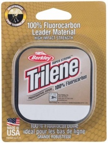 Леска Berkley Trilene 100% FluoroCarbon Clear 50m 0.18mm 2.3kg