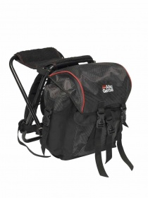 Рюкзак стул Abu Garcia Rucksacks Junior 52x34x40cm Black/red