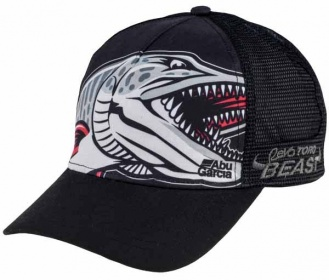 Бейсболка Abu Garcia Beast HAT Polyester/Cotton One Size fits all Black