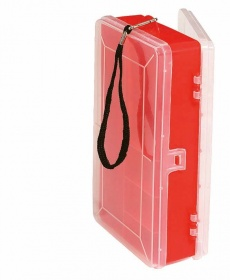 Коробка 2-х сторонняя Abu Garcia Double Sided Utility Boxes Large Red/Clear