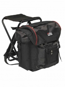 Рюкзак стул Abu Garcia Rucksacks Standard 58x40x50cm Black/red