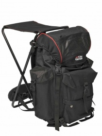 Рюкзак стул Abu Garcia Rucksacks Deluxe 62x40x55cm Black/red