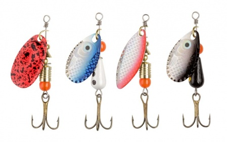 Набор блесен Abu Garcia Spoon/SpInner Kit (4шт) Trout SpInner