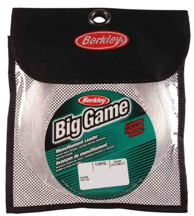 Леска Berkley  Big Game Mono Leaders Clear 100m 0.88mm 40kg фото 1